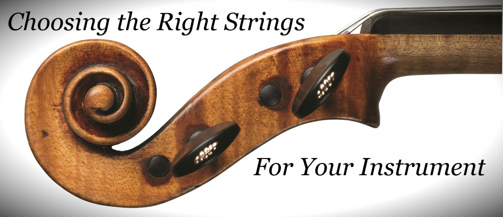 Choosing the Right Strings
