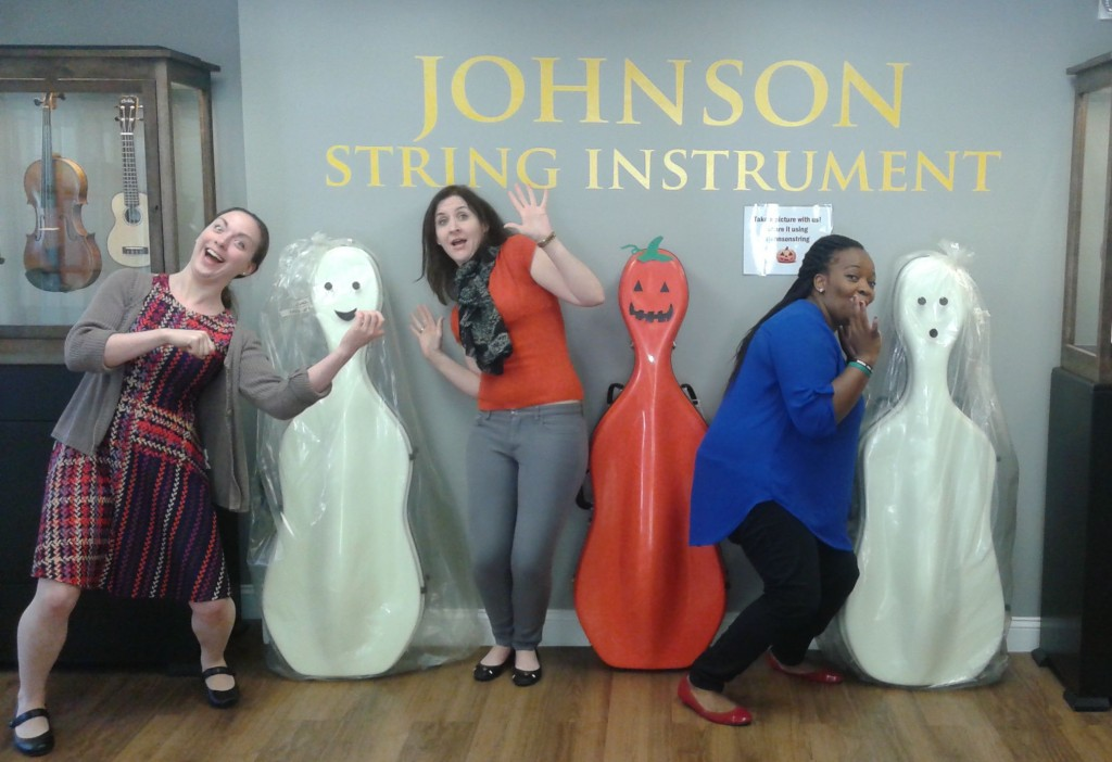 Ghost Cellos!