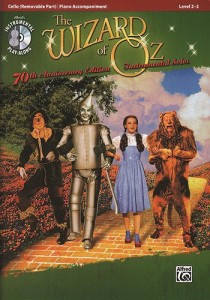 The Wizard of Oz for cello: ON SALE $11.96