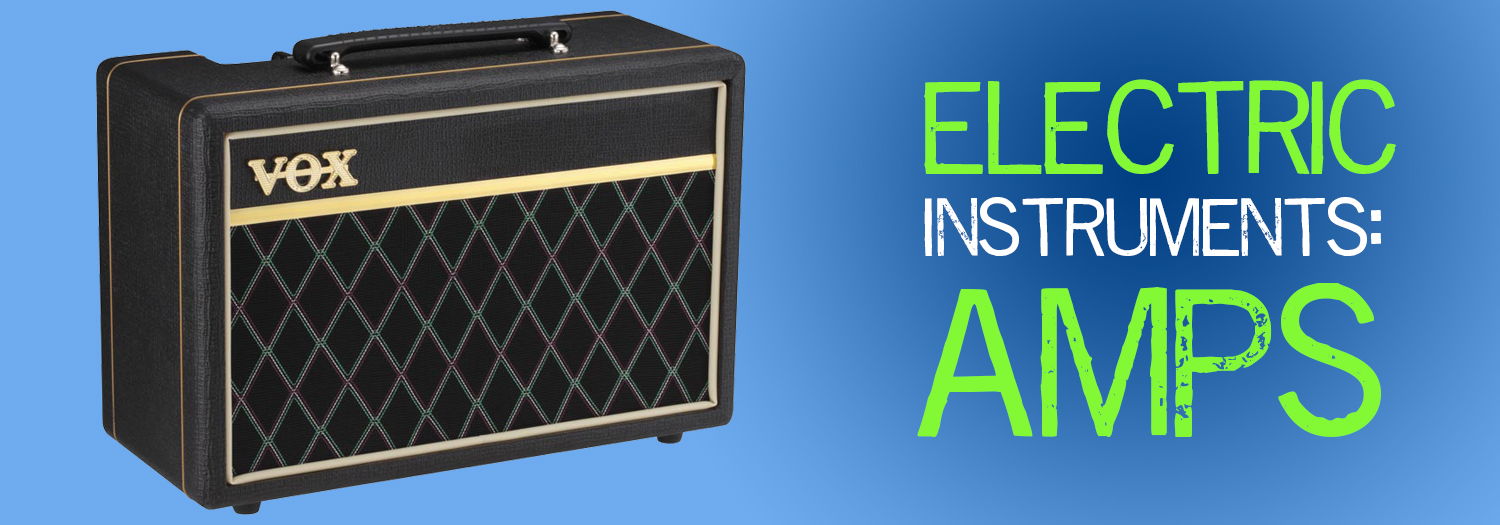 Electric Instruments Amps Header Image