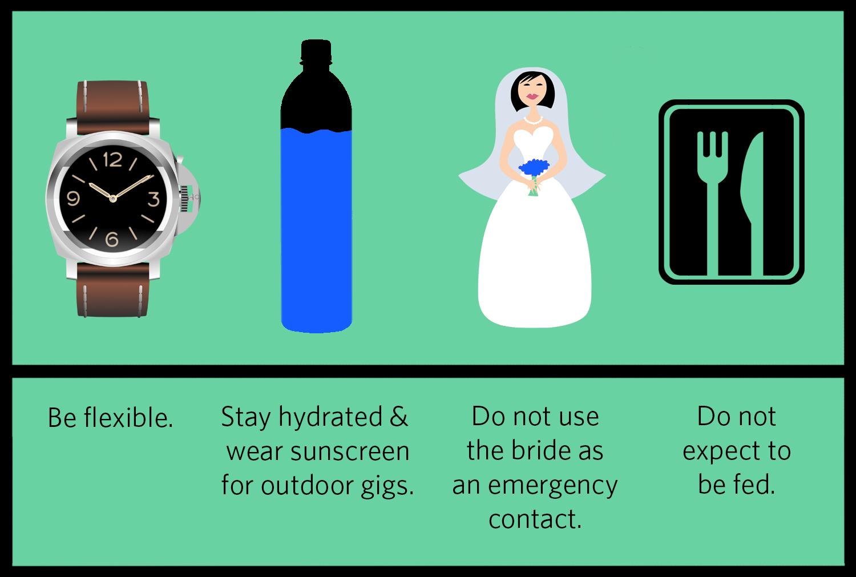 Wedding Gig Infographic
