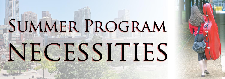 Summer Program Blog Header