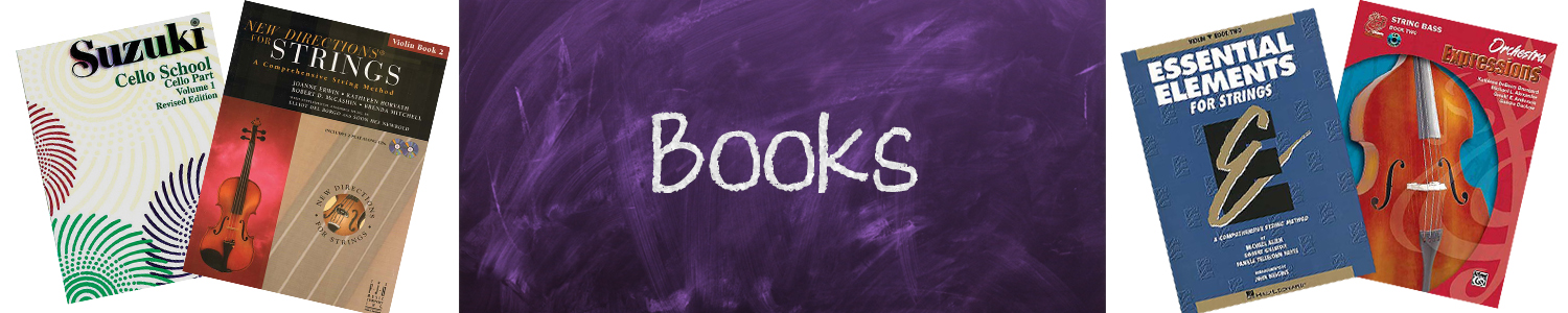 Back to School Blog Books Subheader