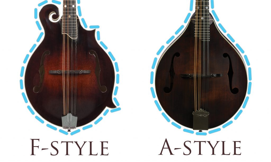 Mandolin Styles Graphic