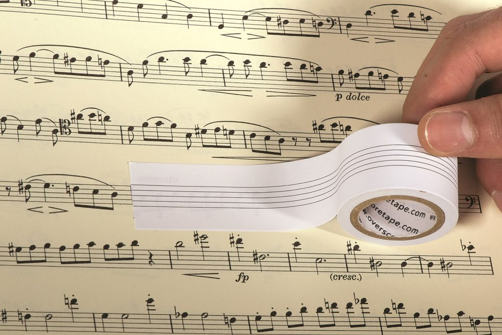 Overscore Removable Manuscript Tape $8.00
